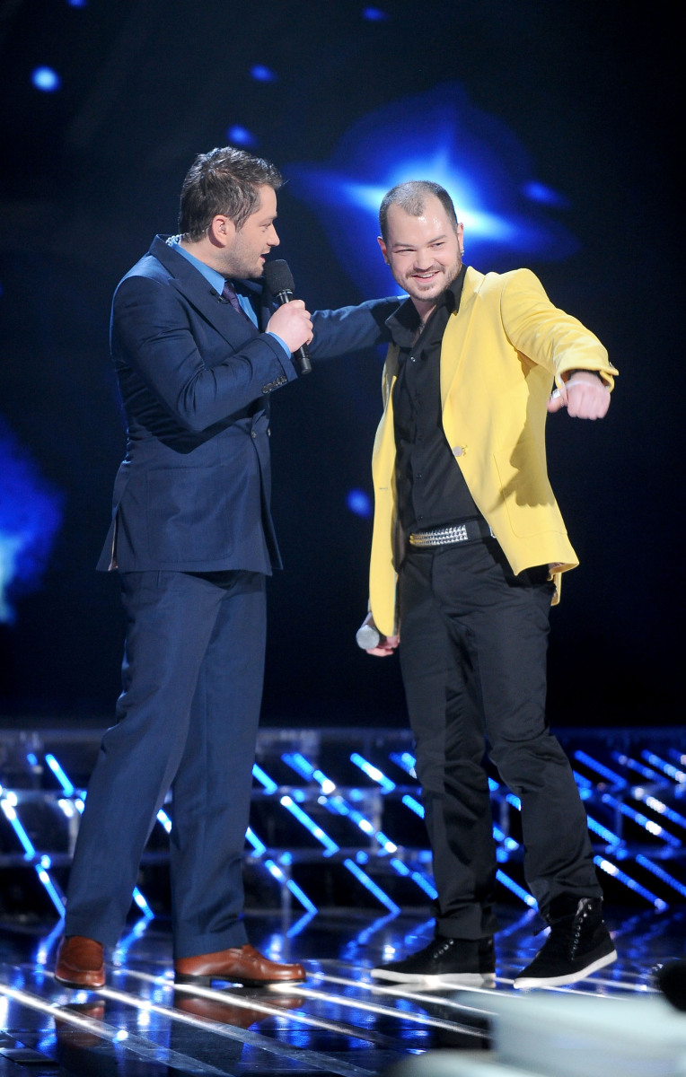 William Malcolm i Jarosław Kuźniar w pierwszym odcinku na żywo